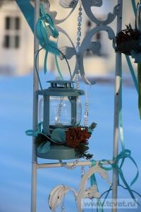 Зимняя свадьба с Белыми тюльпанами Кузьминки. Фото 69