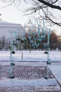 Зимняя свадьба с Белыми тюльпанами Кузьминки. Фото 76