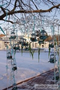 Зимняя свадьба с Белыми тюльпанами Кузьминки. Фото 78