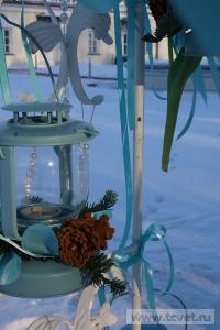 Зимняя свадьба с Белыми тюльпанами Кузьминки. Фото 80