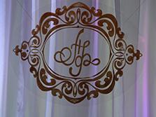 Украшение свадьбы в ресторане Шедевр