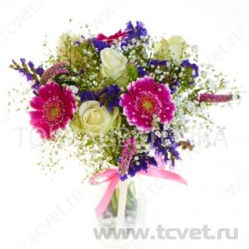 Букет невесты Цветочное диско