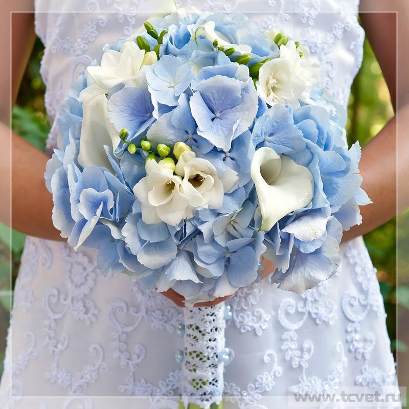 Свадебный букет с гортензией цена доставке цветов алматы