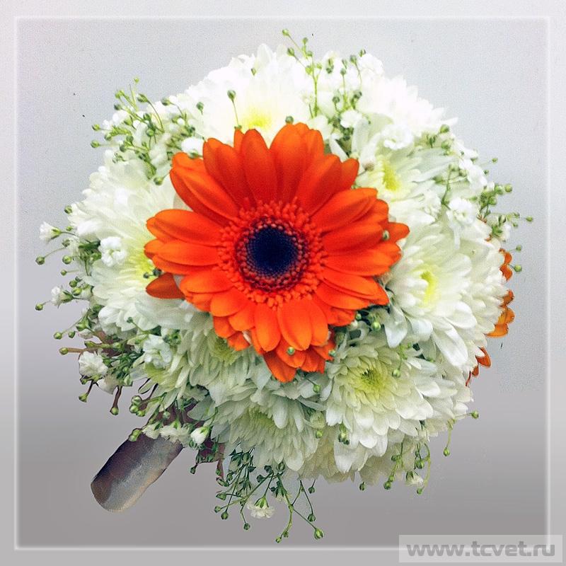 Букет невесты Солнышко