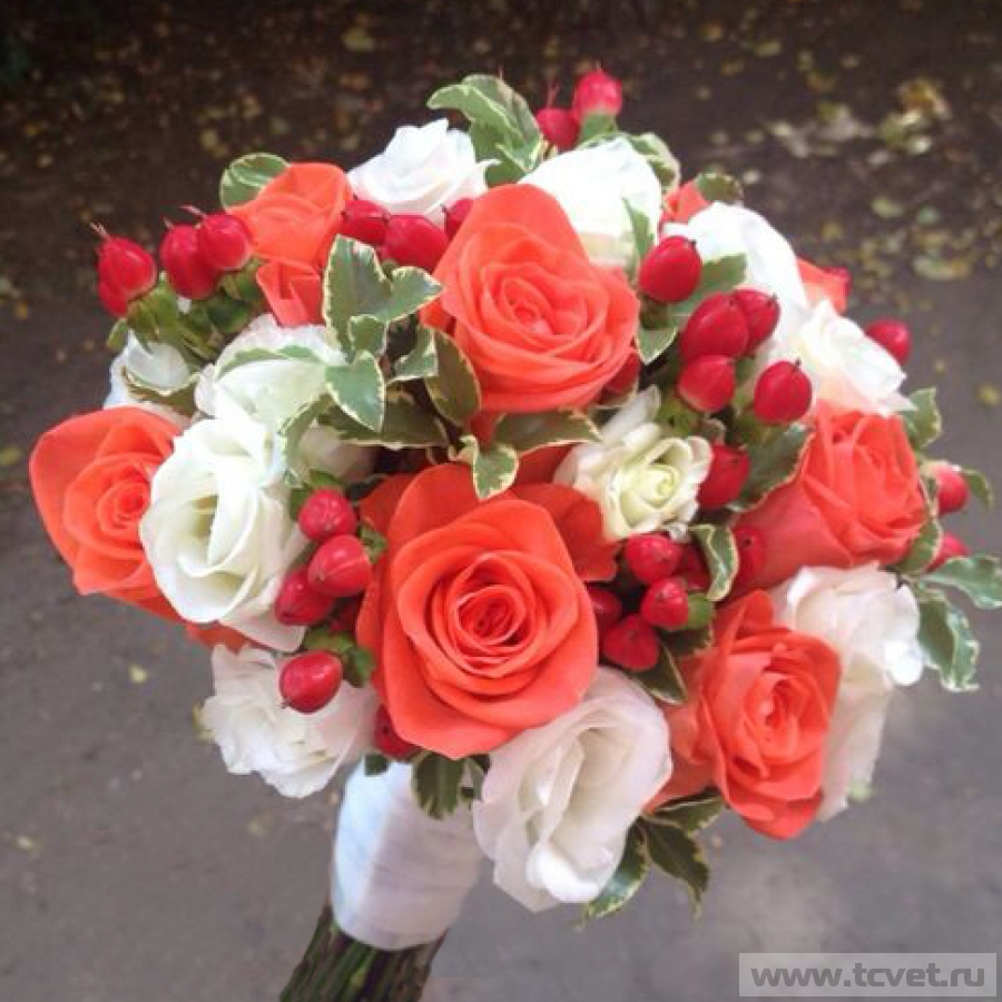 Букет невесты Вау