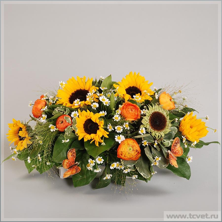 На свадебный стол Солнечный цветок
