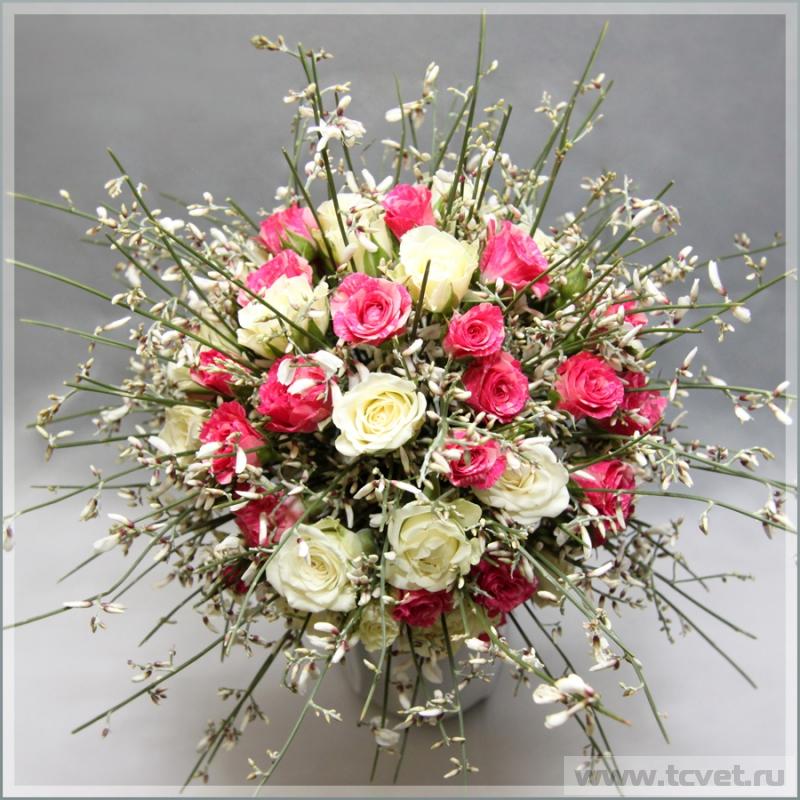 Свадебный букет невесты джинджер