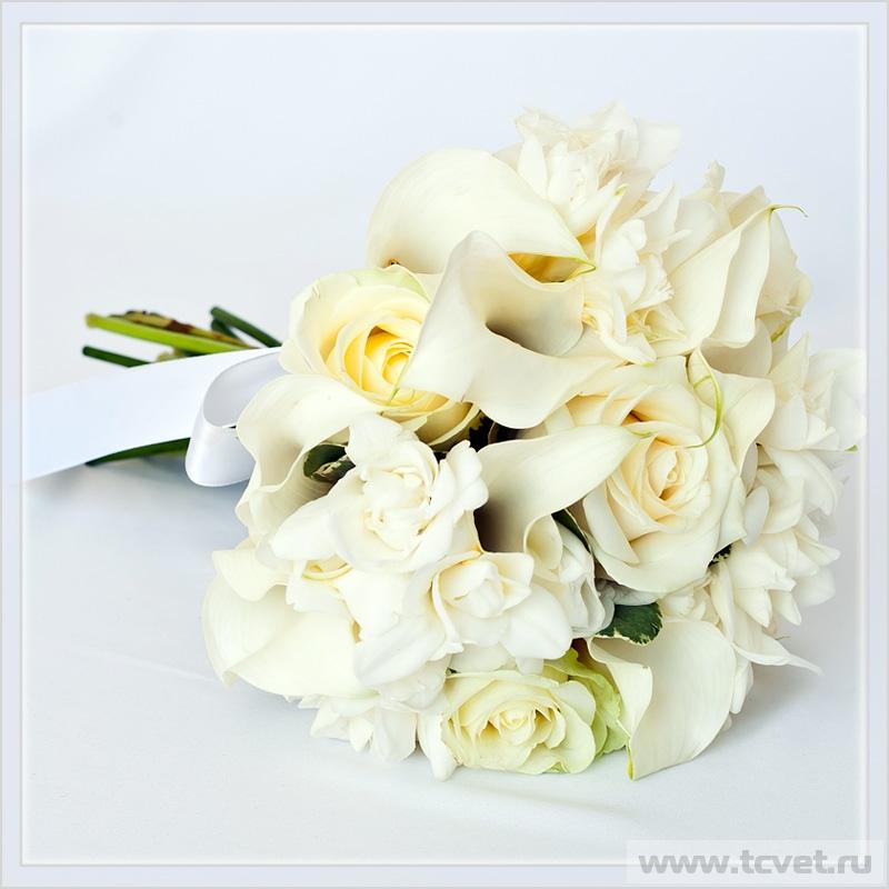 Букет невесты Кристалл Вайт