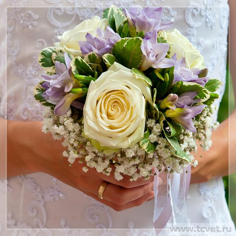 Букет невесты Незабудка