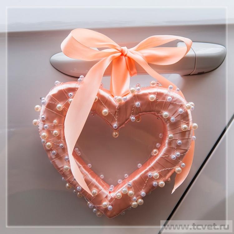 Свадебные сердечки своими руками