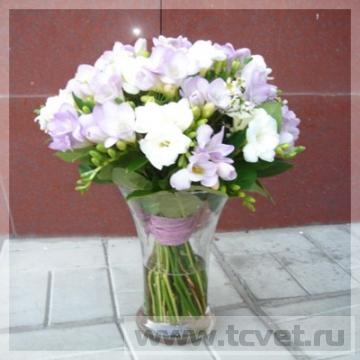 Женский букет модерн Карамель