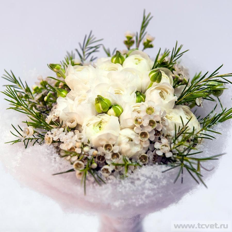 Букет невесты Снежная королева