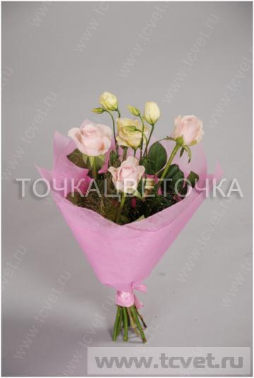 Корзина цветов на свадьбу в подарок
