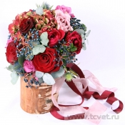 Букет невесты Бархатный сезон