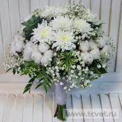 Букет невесты Белее белого
