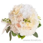 Букет невесты Крем-брюле