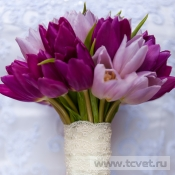 Букет невесты Тюльпаны