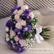 Букет невесты Касаточка