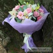 Букет подарочный Фламинго