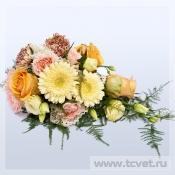 Цветы для свадебного стола Шебби Шик