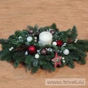 Настольная композиция рождественская