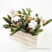 Натурэль деревянный ящичек