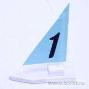Морские номера столов кораблики