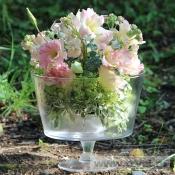 Персиковый пуддинг в вазе