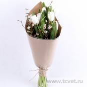 Тюльпаны в крафте M