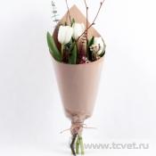 Тюльпаны в крафте S