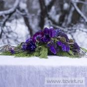 На стол молодых Виолетта
