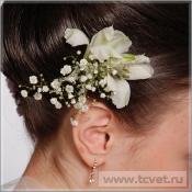Заколка невесты из цветов Нежность